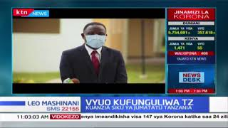 Vyuo Kufunguliwa Tanzania: Taasisi za Elimu ya juu kufunguliwa kuanzia Jumatatu