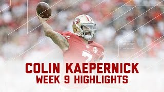Colin Kaepernick's Near 400-Yard Performance! | Saints vs. 49ers | NFL Week 9 Player Highlights