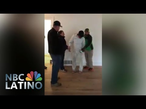 ICE Federal Agents Mistakenly Detains Innocent Man | NBC Latino | NBC News