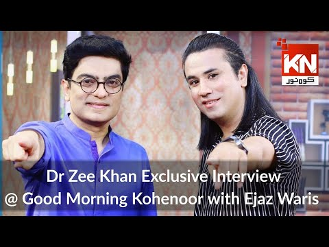Good Morning With Dr Ejaz Waris   Dr Zee Khan Exclusive Interview 06 September 2021