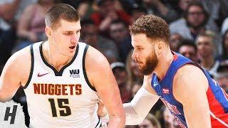 Detroit Pistons Vs Denver Nuggets - Full Game Highlights | March 26, 2019 | 2018-19 NBA Season
