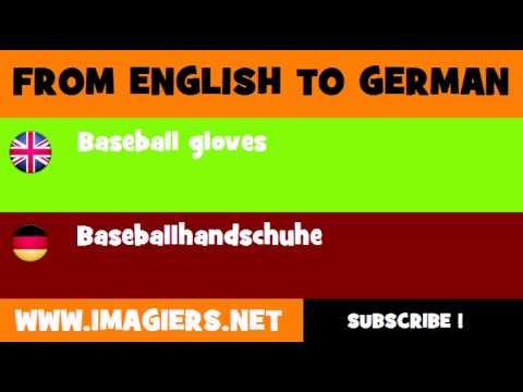 DEUTSCH   ENGLISCH  = Baseballhandschuhe