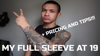 FATTERMANZ FULL SLEEVE AT 19 | + PRICING AND TIPS!!!