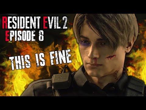 THE SUPER TYRANT | Resident Evil 2 Remake Playthrough - Part 8