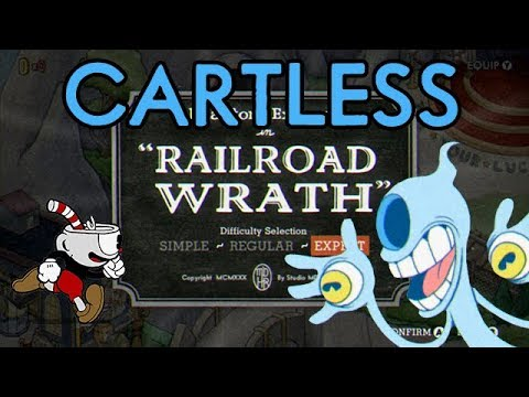 Cuphead Cartless Challenge: Railroad Wrath