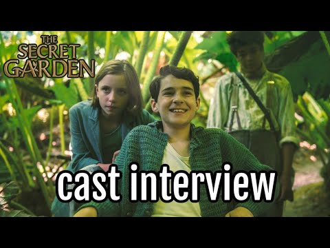 The Secret Garden 2020 Movie Cast Interview With Amir Dixie Edan
