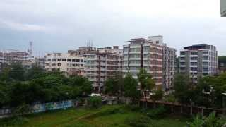 preview picture of video 'Cox's Bazar grass land and hotels'