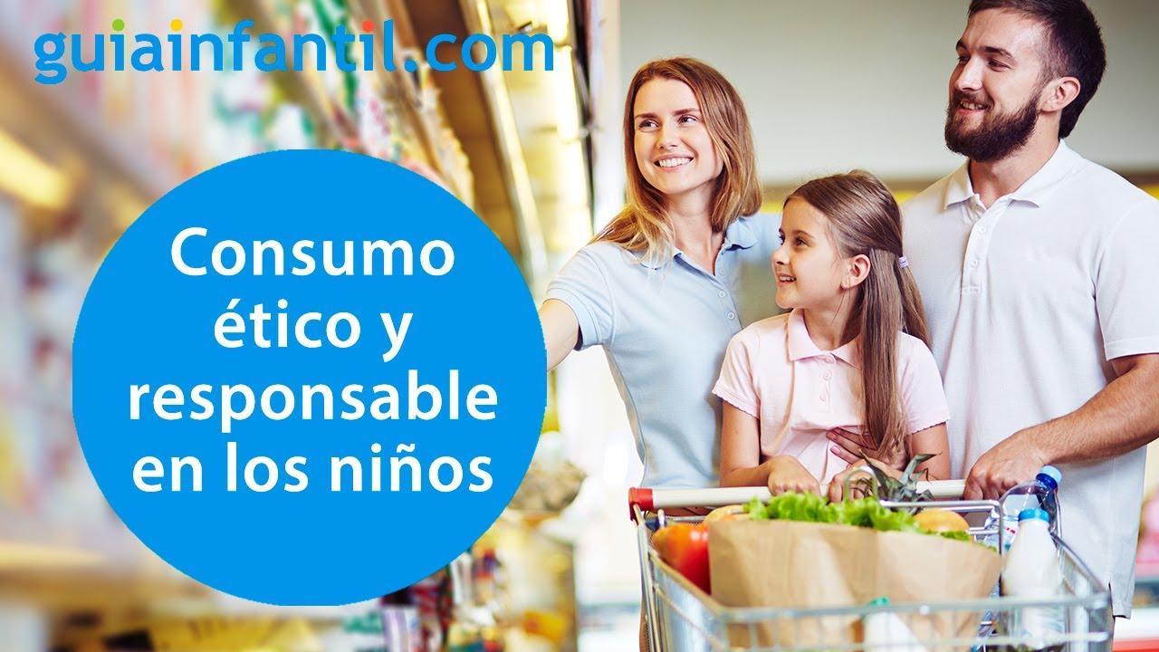 Cómo educar al niño en el consumo ético y responsable   Conecta Con Tu Hijo