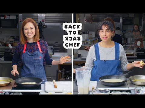 Download Ellie Kemper Tries To Keep Up With A Professional Chef | Back-to-Back Chef | Bon Appétit HD Mp4 3GP Video and MP3