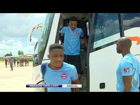 Gasper & Gezani on Zanaco Fc vs Mbabane Swallows  - 2018 CC Build Up