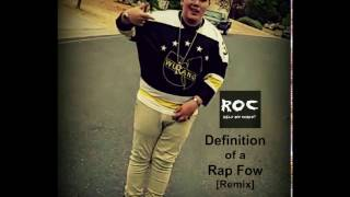 Definition of a Rap Flow [Remix] (Official Audio)