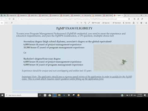 pgmp certification training - introduction to pgmp® certification ...
