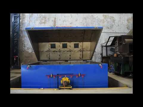 Rock & Roll Roto Moulding Machine