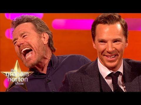 Benedict Cumberbatch jako oddávající a Judi Dench v začátcích kariéry - The Graham Norton Show