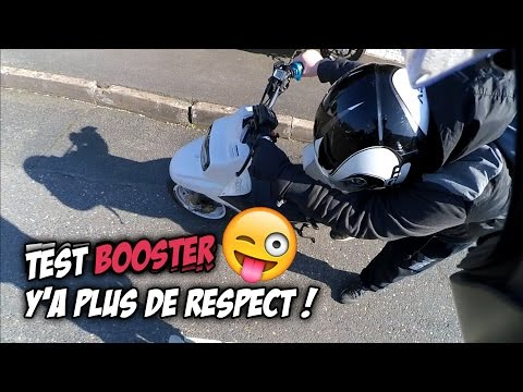 #TEST 4 : J'ESSAYE UN BOOSTER !!! Y'A PLUS DE RESPECT FRERE !