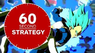 DRAGON BALL FighterZ - How to Play SSGSS (Super Saiyan Blue) Vegeta in 60 Seconds