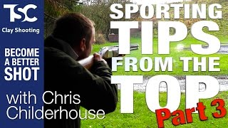 Sporting Tips #3 Teal & Rabbits with Chris Childerhouse | TSC Clay Shooting