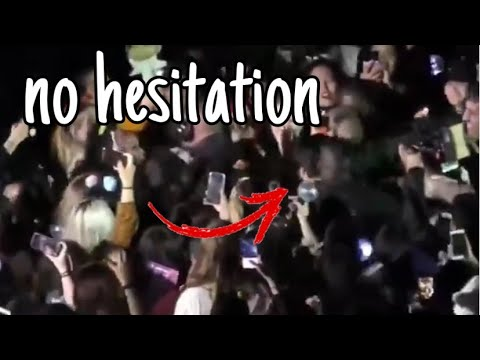 JUNGKOOK JUMPS INTO THE CROWD, WHY? | respect our euphoria