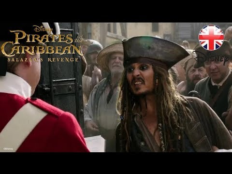 PIRATES OF THE CARIBBEAN: Salazar's Revenge - Guillotine- Official Disney | HD