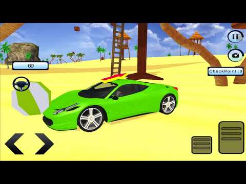 Water Surfer Car Floating Race 2017 : New Car Unlocked -Android Gameplay 2018