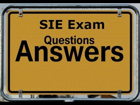SIE Exam Prep: 20 SIE Exam Sample Questions - YouTube