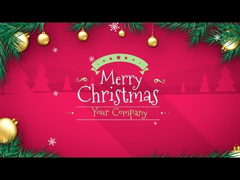 Do Christmas Greeting Card Video For 5 Creativerv01507 Fivesquid