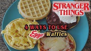 Waffles Served Four Ways   Eggo Waffles   Stranger Things