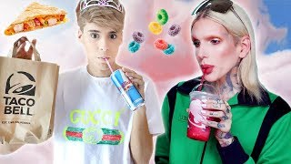 i ate like JEFFREE STAR for a day