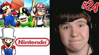 Reaction Monday #24 - SMG4: Stupid Mario Sports Mix + If Mario Ran Nintendo + Spongebob YTP