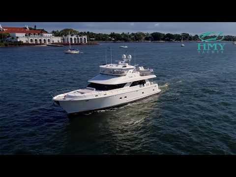Ocean Alexander Open Flybridge video