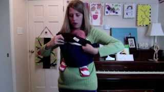 Tummy to Tummy Upright Front Carry with a Newborn