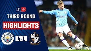 Holders Progress as Young Citizens Impress | Manchester City 4-1 Port Vale | Emirates FA Cup 19/20