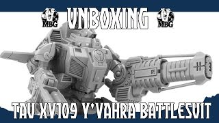 Tau XV109 Y'Vahra Battlesuit | Miniset net - Miniatures Collectors Guide