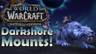The 6 NEW Darkshore Mounts & Where to Find Them | Battle for Azeroth