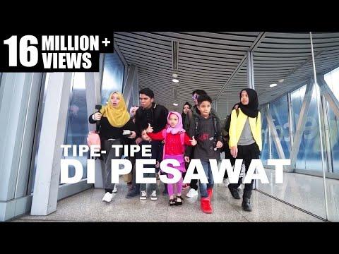 Video TIPE-TIPE RUSUH DI PESAWAT! ANAK BANYAK - GEN HALILINTAR