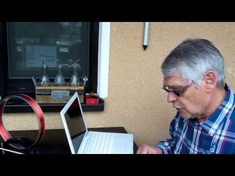Radioempfang mit Wurfantenne ( Dipol )