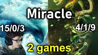 Miracle 7.20c  Morphling and Medusa Midlane , Easy MMR