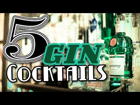 Video 5 Gin Cocktails