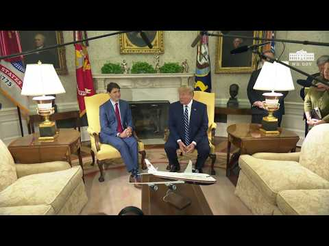 President Trump Participates in a Bilateral Meeting with the Prime Minister of Canada