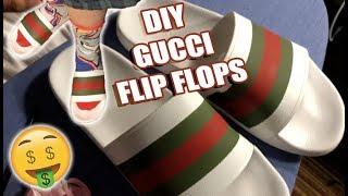 c6b29bd6a1d4 diy gucci flip flops - Free video search site - Findclip