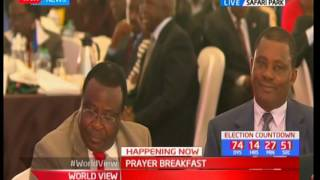 NATIONAL PRAYER BREAKFAST - 25th May 2017 - David Maraga preaches a very emotional evangelization