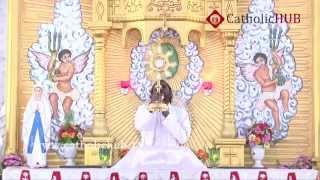 HOLY MASS & HEALING PRAYER (REV.FR.Jaya Raju) @ St.IGNATIUS CHURCH, GAGILLAPUR,TS,INDIA,02-10-15 .HD