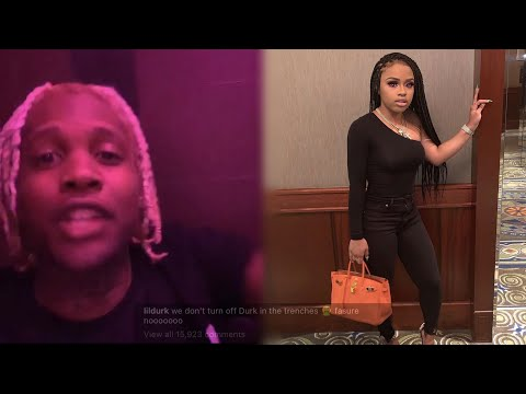Lil Durk Sends Yaya Mayweather A Message After Turning Off His Song!?