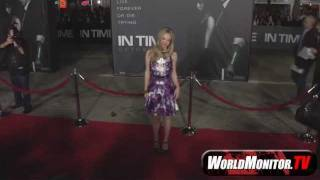 Аманда Сейфрид, 'In Time' LA Film Premiere Arrivals with Justin Timberlake, Olivia Wilde, Amanda Seyfried and more