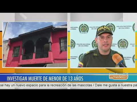 Investigan muerte de menor de 13 años en hotel del Centro de Medellin - Telemedellin