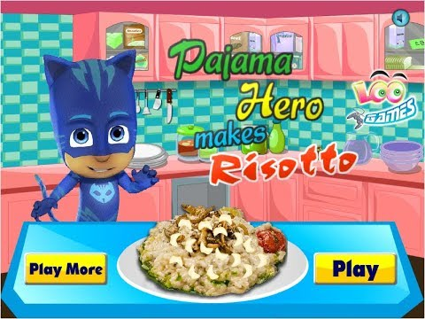 Cooking Games PJ Masks 2018 Catboy for Kids PJ Masks Toys Vedios Games