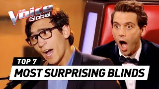 Gambar cover The Voice | MOST SURPRISING Blind Auditions worldwide [PART 3]