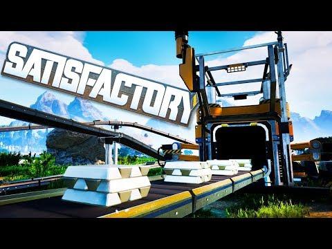 Ocelové Město - Satisfactory - díl 16 - Nakashi