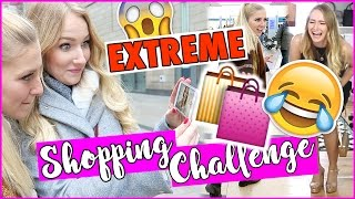 EXTREME SHOPPING CHALLENGE Mit LACHFLASH TheBeauty2go