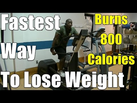 Fastest Way To Lose Weight = This 40min HIIT Elliptical Workout (Burns 800 Calories) Mp3